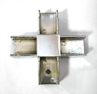 Соединитель 25*25 PR7 (4-х труб  крестообр. хром)