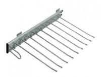 Вешалка для брюк выдвижная левосторонняя NB18 - L (450*360*55)
