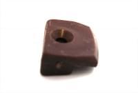 стеклодержатель (кляймер) №7 т.коричневый пластик