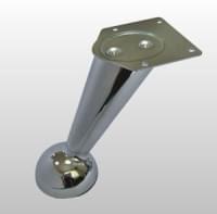 Ножка TL315 B наклонная L=126мм хром
