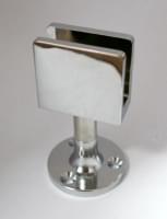 Стеклодержатель на ножке L=50 (под стекло 8-12мм)