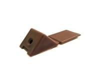Уголок пластиковый №7 темн.коричневый