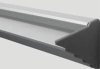 Алюминевый профиль L389 L= 3 м (стекло 10мм)
