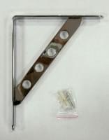 Кронштейн №73024 хром (247х194х4мм)
