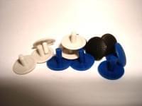 Заглушка универсальная для евровинта синяя №11