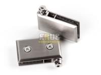 Навес для стекла K 803 (5-8мм) нержавеющая сталь