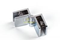 Навес для стекла 5-8мм хром 180гр V-151B