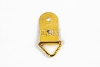 Петля подвеска для картины большая жёлтая КНР