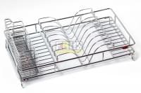 Сушка для посуды хром  450*250*145 CWJ 266В