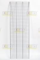 Полка проволочная для гардеробной системы  1220х407мм цвет:серый