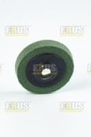 Полировочный диск D=100-15 для нерж. стали, зерн. 200 (зелёный)